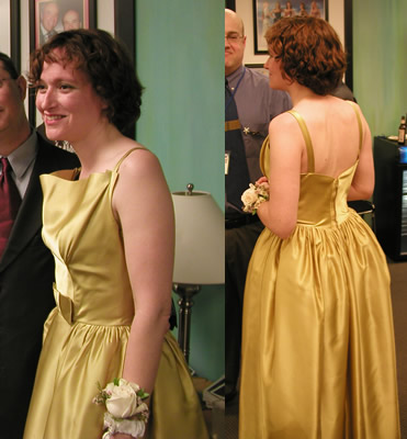 Mary Robinette Kowal's dress