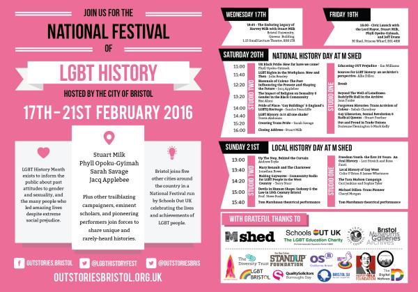 Bristol LGBT History Festival Programme