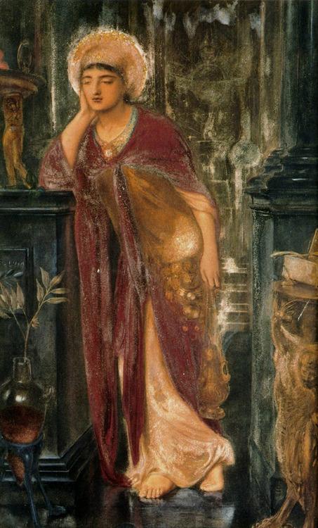 Heliogabalus, High Priest of the Sun - Simeon Solomon