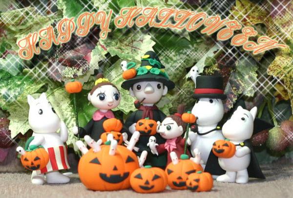 Halloween Moomins