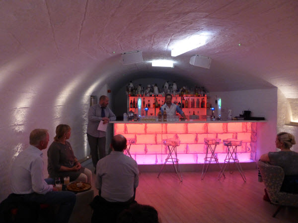 The Igloo bar