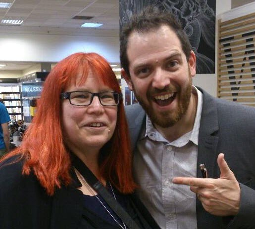 Joe Abercrombie and Pat Hawkes-Reed