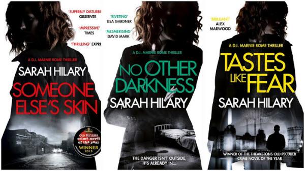 Sarah Hilary book covers