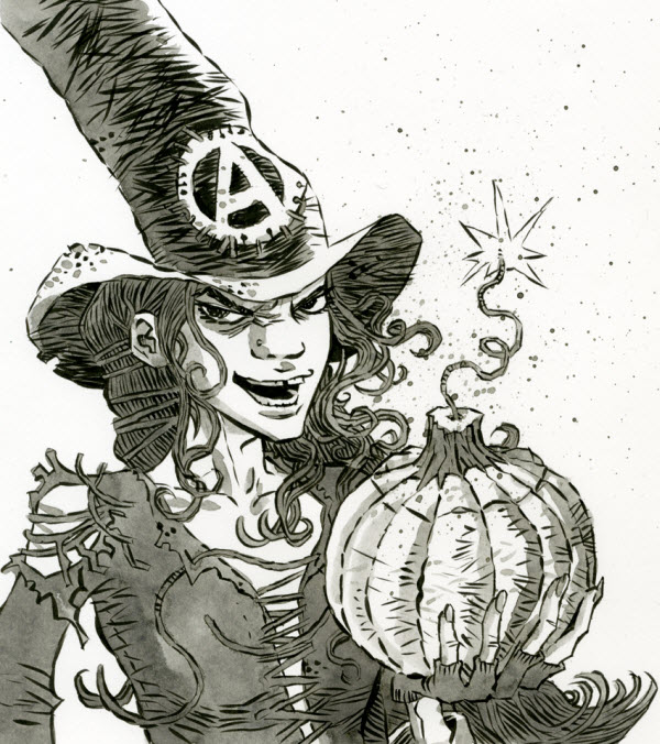 Anarcho Witch - Simon Gane