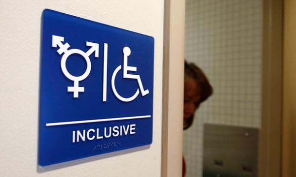Bad toilet signage