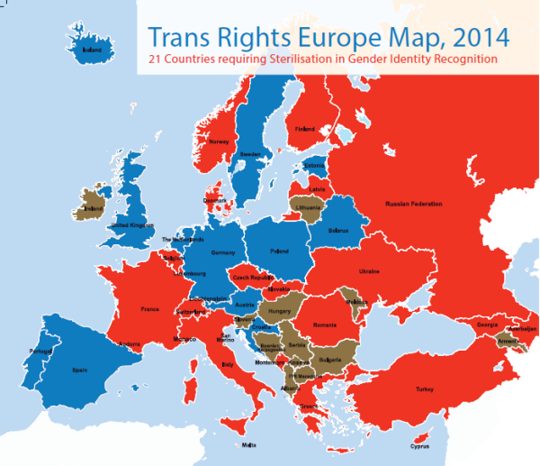 Trans Rights in Europe, 2015