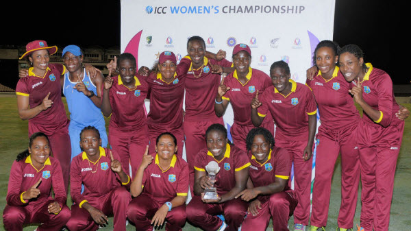 West Indies Women - World Champions (photo from ESPN CricInfo.com)