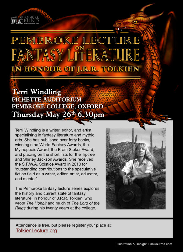 Tolkien Lecture 2016 - Terri Windling