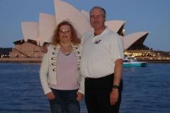 Windblown Tourists