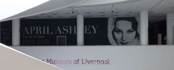 April Ashley Exhibition