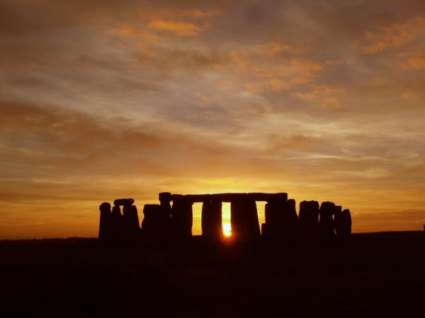 StonehengeSunset