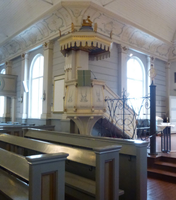 Iisalmi Church Inside 2