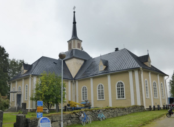 Iisalmi Church Outside