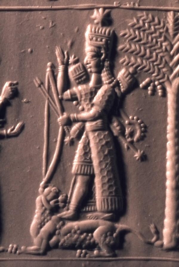 Ishtar-Detail