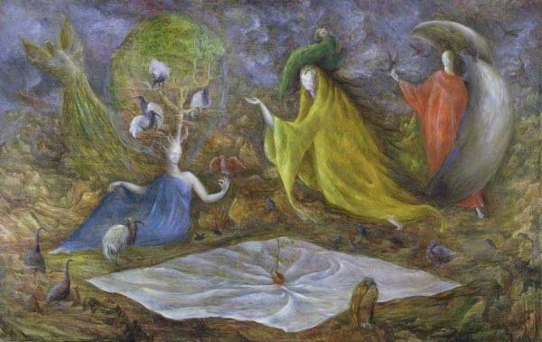 Pomps of the Subsoil - Leonora Carrington